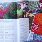 """Så kom min Camino artikel i friluftsmagasinet """"Opdag Verden""""  Læs mine beskrivelser af de forskellige Camino ruter."""